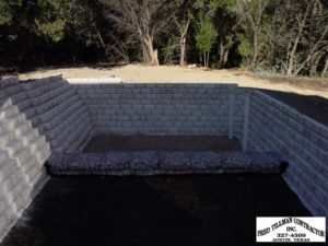 Fred Tillman Contracts Retention Wall Projects